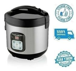 new 8 cup rice cooker steamer nonstick
