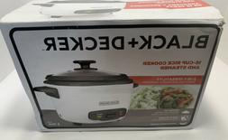 New Black & Decker 16 Cup 3 In 1 Rice Cooker RC516