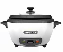 New BLACK+DECKER RC506 6-cup Rice Cooker. 050875815681
