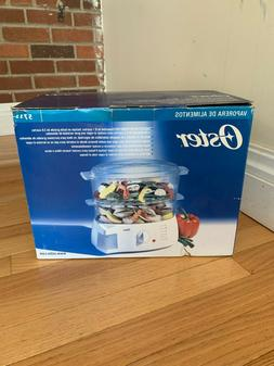 NEW Oster Food Steamer Two-Tiered Food Steamer Rice Cooker V