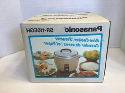 New Sealed Vintage Gold Panasonic Rice Cooker Steamer 5 Cup