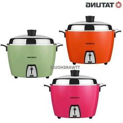 NEW TATUNG TAC-10 RICE COOKER  WITH STANLESS STEEL INNER POT