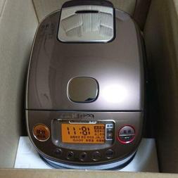 Zojirushi NP-RL05-TA rice cooker pressure IH type color brow