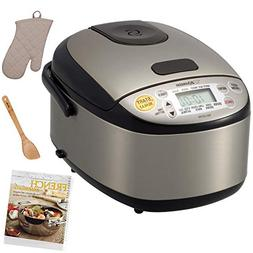 Zojirushi Micom Rice Cooker and Warmer  with Cookbook and Ac