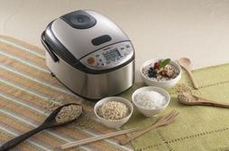 Zojirushi NS-LGC05XB Micom Rice Cooker & Warmer Stainless Bl