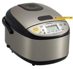 Zojirushi Ns-Lgc05Xb Micom Rice Cooker  Warmer, 3-Cups , Sta