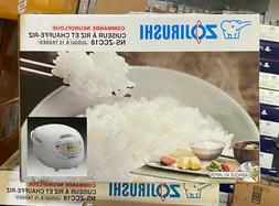 Zojirushi NS-ZCC18 10-Cup Neuro Fuzzy Rice Cooker, 1.8-Liter