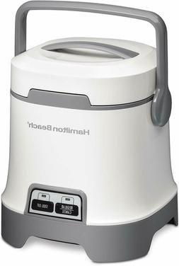 Oatmeal and RICE COOKER, 3-Cup Capacity, White