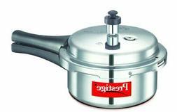 Prestige Popular Aluminium Pressure Cooker, 2 Litres, Silver