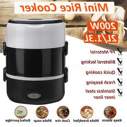 Portable Auto Mini Rice Cooker Electric Keep Warm Cook Soups