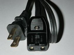 1/2 inch on center spaced 2pin Power Cord for Zojirushi Rice