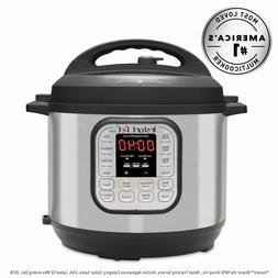 Pressure Cooker 6 qt Slow Cooker Rice Cooker Steamer Saute'