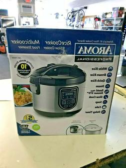 Aroma Professional Rice Cooker Multicooker Food Steamer 20 c