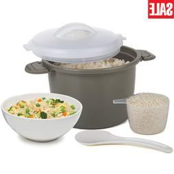 Progressive International Microwave Rice Cooker Sets Made of