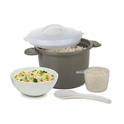 Progressive International PS-96GY Set Microwave Rice Cooker