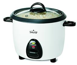 New Sunbeam Rival Rc101 Food Rice Cooker 10 Cup With Steamin