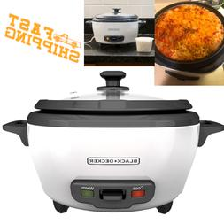 Rice Cooker 6 Cup Food Steamer Pot 3 Basket Electric Nonstic