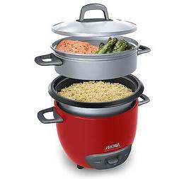 Rice Cooker and Food Steamer 6 Cup Pot Style Nonstick Profes