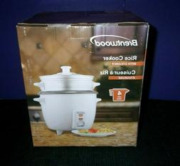 Brentwood Rice Cooker & Food Steamer - NEW in Box