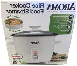Aroma 14-Cup Rice Cooker & Food Steamer in one