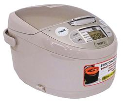 TIGER Rice Cooker JAX-S18W CZ AC220V 10 Cup Made in Japan EM