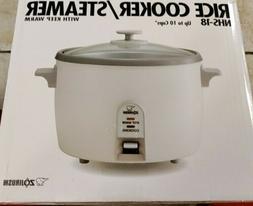 Zojirushi Rice Cooker/Steamer 1.8 Liter - White
