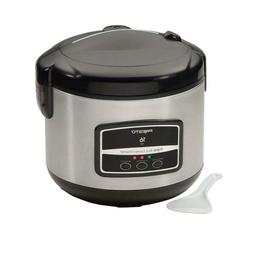 Rice Cooker White or Brown 16-Cup Steam Basket Steaming Vege