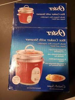 Oster Rice Cooker with steamer-6 Cup - 4722New