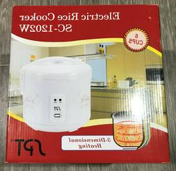SPT SC-1202W Rice Cooker 6 Cup White Color  New and still se