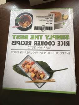 Simply The Best Rice Cooker Recipes By Marian Getz