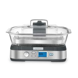 Stainless Steel Electric Food Steamer And Rice Cooker LCD Di