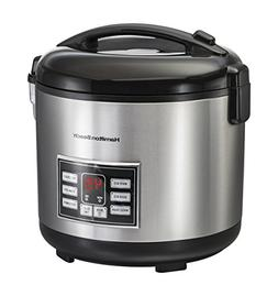 Hamilton Beach® Stainless Steel Rice and Hot Cereal Cook