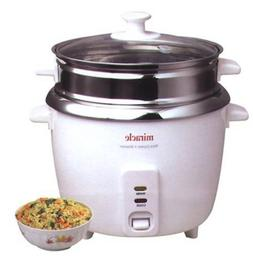 Miracle Exclusives - Miracle Stainless Steel Rice Cooker