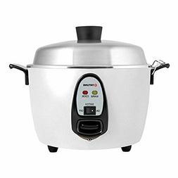 Tatung – TAC-10G  – 10 Cup Rice Cooker – White Aluminu