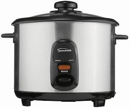 Brentwood TS-10 Rice Cooker, Stainless